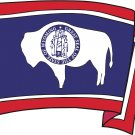 Wyoming State Flag Wall Decal