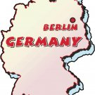 Germany Country Map Wall Decal