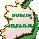 Ireland Country Map Wall Decal
