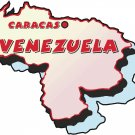Venezuela Country Map Wall Decal