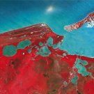 Campeche Earth As Art on Canvas