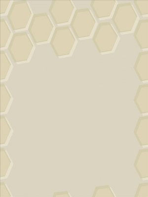 Honeycomb Pattern Wall Decal