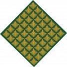 Pineapple Square Pattern Wall Decal