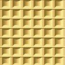 Waffle Pattern Wall Decal