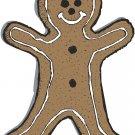 Gingerbread Man Wall Decal