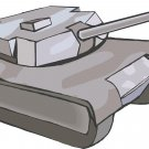 Military Tank Wall Decal
