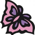 Butterfly Pink Wall Decal