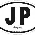 Japan Oval Car Sticker