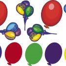 Balloons Wall Decal Assortment Packs