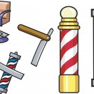 Barbershop Wall Decal Assortment Packs