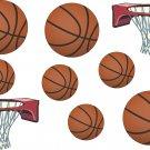 Basketball Balls Wall Decal Assortment Packs
