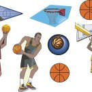 Basketball Wall Decal Assortment Packs