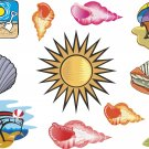 Beach Wall Decal Assortment Packs