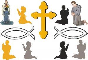 Catholic Wall Decal Assortment Packs