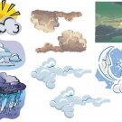 Clouds Wall Decal Assortment Packs