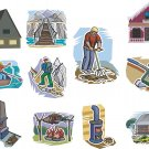 Cottage Life Wall Decal Assortment Packs