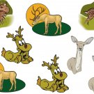 Deer Wall Decal Assortment Packs