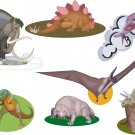 Dinosaurs Wall Decal Assortment Packs