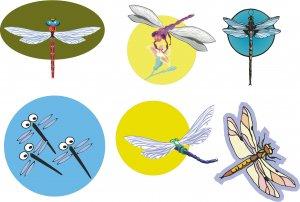 Dragonflies Wall Decal Assortment Packs
