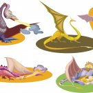 Dragons Wall Decal Assortment Packs