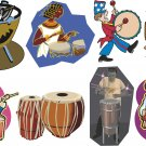 Drums Wall Decal Assortment Packs