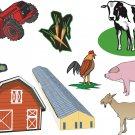 Farm Wall Decal Assortment Packs