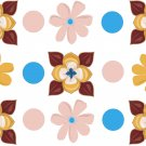 Floral Wall Decal Assortment Packs