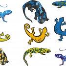 Gecko Wall Decal Assortment Packs