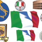 Italy Wall Decal Assortment Packs
