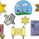 Jewish Wall Decal Assortment Packs