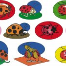 Lady Bug Wall Decal Assortment Packs