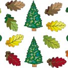 Leaves Wall Decal Assortment Packs