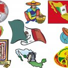 Mexican Wall Decal Assortment Packs