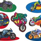Motorcycle Wall Decal Assortment Packs