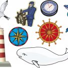 Nautical Wall Decal Assortment Packs
