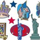 New York Wall Decal Assortment Packs
