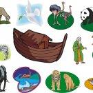 Noahs Ark Wall Decal Assortment Packs