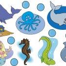 Ocean Life Wall Decal Assortment Packs