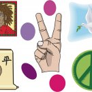 Peace Wall Decal Assortment Packs