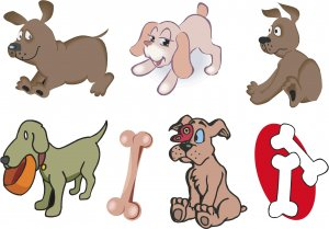Puppies Wall Decal Assortment Packs