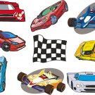 Race Car Wall Decal Assortment Packs