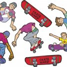 Skateboarders Wall Decal Assortment Packs