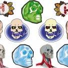 Skulls Wall Decal Assortment Packs