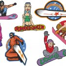 Snowboarding Wall Decal Assortment Packs
