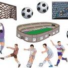 Soccer Wall Decal Assortment Packs