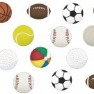 Sports Balls Wall Decal Assortment Packs