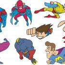 Superhero Wall Decal Assortment Packs