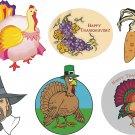 Thanksgiving Wall Decal Assortment Packs