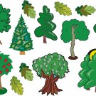 Trees Wall Decal Assortment Packs