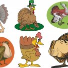 Turkeys Wall Decal Assortment Packs
